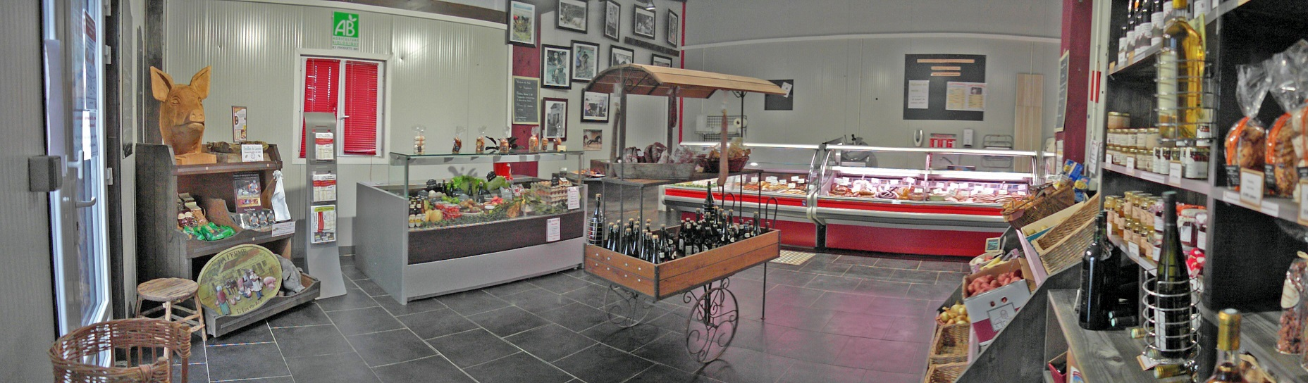 image de la boutique à la ferme