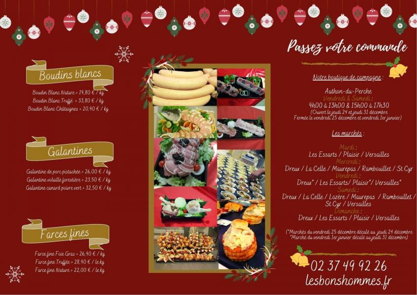 gamme festive - noel - fete 2020 - produits